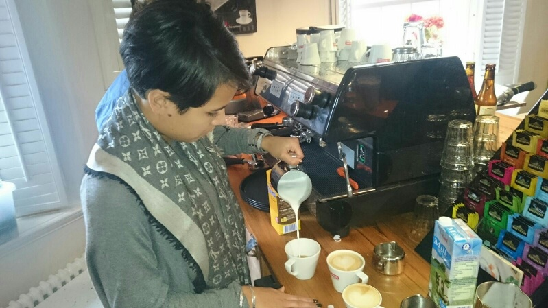 Theehuis de Akermolen Koffietraining
